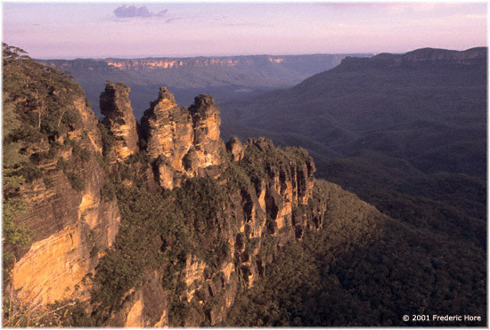 Greater Blue Mountains World Hertage Area, Katoomba, NSW