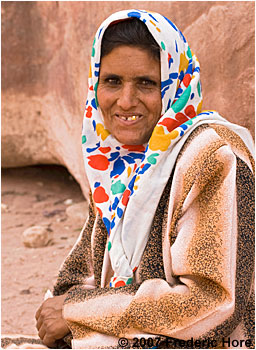 Bedouin mother of 10 children